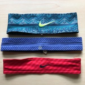 Nike + lululemon Headband Bundle